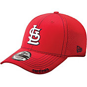 New Era Men's St. Louis Cardinals 39Thirty Neo Red Flex Hat