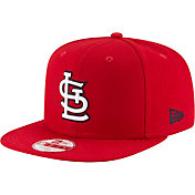 New Era Men's St. Louis Cardinals 9Fifty Red Block Back Adjustable Hat