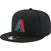 New Era Men's Arizona Diamondbacks 59Fifty Alternate 2 Black Authentic Hat