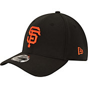 New Era Men's San Francisco Giants 39Thirty Classic Black Flex Hat