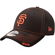 New Era Men's San Francisco Giants 39Thirty Neo Black Flex Hat