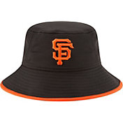New Era Men's San Francisco Giants Black Team Bucket Hat