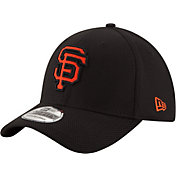 New Era Men's San Francisco Giants 39Thirty Diamond Era Black Flex Hat