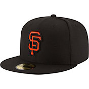New Era Men's San Francisco Giants 59Fifty Diamond Era Black Fitted Hat