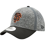 New Era Men's San Francisco Giants 39Thirty Clubhouse Grey/Black Flex Hat