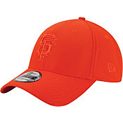 New Era Men's San Francisco Giants 39Thirty Diamond Era Tone Tech Orange Flex Hat