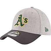 New Era Men's Oakland Athletics 39Thirty Grey Change Up Classic Flex Hat