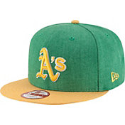 New Era Men's Oakland Athletics 9Fifty Heather Action Adjustable Hat