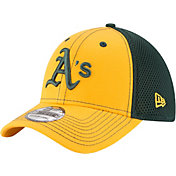 New Era Men's Oakland Athletics 39Thirty Team Front Neo Flex Hat