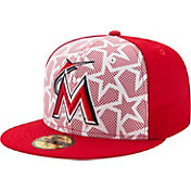 New Era Men's Miami Marlins 59Fifty 2016 4th of July Authentic Hat