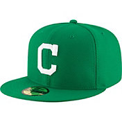 New Era Men's Cleveland Indians 59Fifty St. Patrick's Day Diamond Era Fitted Hat