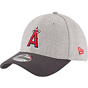 New Era Men's Los Angeles Angels 39Thirty Grey Change Up Classic Flex Hat