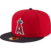 New Era Men's Los Angeles Angels 59Fifty Diamond Era Red Fitted Hat