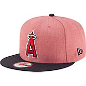 New Era Men's Los Angeles Angels 9Fifty Heather Action Adjustable Hat