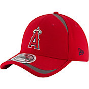 New Era Men's Los Angeles Angels 39Thirty Red Reflectaline Flex Hat