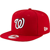 New Era Men's Washington Nationals 9Fifty Red Flag Stated Adjustable Hat