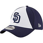 New Era Men's San Diego Padres 39Thirty Diamond Era White/Navy Flex Hat