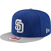 New Era Men's San Diego Padres 9Fifty Heather Action Adjustable Hat