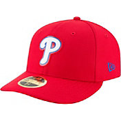 New Era Men's Philadelphia Phillies 59Fifty Diamond Era Red Low Crown Fitted Hat