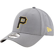 New Era Men's Pittsburgh Pirates 9Forty Grey Adjustable Hat