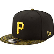 New Era Men's Pittsburgh Pirates 9Fifty Visor Fresh Black Adjustable Hat