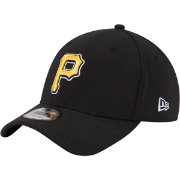 New Era Men's Pittsburgh Pirates 39Thirty Classic Black Flex Hat
