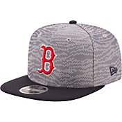 New Era Men's Boston Red Sox 9Fifty Weave Mix Grey Adjustable Hat