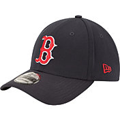 New Era Men's Boston Red Sox 39Thirty Classic Navy Flex Hat