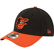 New Era Men's Baltimore Orioles 39Thirty Classic Black Flex Hat