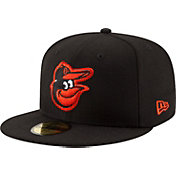 New Era Men's Baltimore Orioles 59Fifty Black State Logo Hat