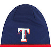 New Era Men's Texas Rangers Authentic Collection Tech Knit Hat