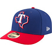 New Era Men's Texas Rangers 59Fifty Diamond Era Royal Low Crown Fitted Hat
