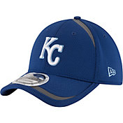 New Era Men's Kansas City Royals 39Thirty Royal Reflectaline Flex Hat