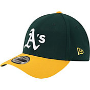 New Era Men's Oakland Athletics 39Thirty Classic Green Flex Hat