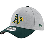 New Era Men's Oakland Athletics 39Thirty Change Up Redux Grey Flex Hat