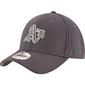 New Era Men's Oakland Athletics 39Thirty Tone Tech Grey Flex Hat