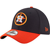 New Era Men's Houston Astros 39Thirty Diamond Era Navy Flex Hat