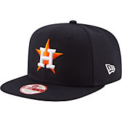 New Era Men's Houston Astros 9Fifty Navy Flag Stated Adjustable Hat