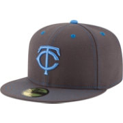 New Era Men's Minnesota Twins 59Fifty 2016 Father's Day Authentic Hat