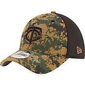 New Era Men's Minnesota Twins 39Thirty 2016 Memorial Day Flex Hat