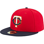 New Era Men's Minnesota Twins 59Fifty Alternate 2 Red Authentic Hat