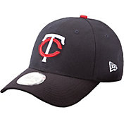 New Era Men's Minnesota Twins 9Forty Pinch Hitter Navy Adjustable Hat
