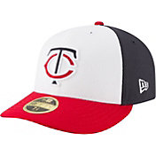 New Era Men's Minnesota Twins 59Fifty Diamond Era White/Navy/Red Low Crown Fitted Hat