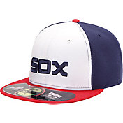 New Era Men's Chicago White Sox 59Fifty Alternate White/Navy Authentic Hat