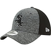 New Era Men's Chicago White Sox 39Thirty Shadow Blocker Grey/Black Flex Hat