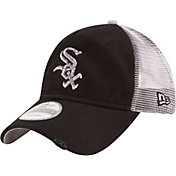 New Era Men's Chicago White Sox 9Twenty Rustic Black Adjustable Hat