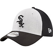 New Era Men's Chicago White Sox 39Thirty Heather Grey Neo Flex Hat