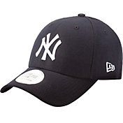 New Era Men's New York Yankees 9Forty Pinch Hitter Navy Adjustable Hat