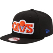 New Era Men's Cleveland Cavaliers 9Fifty Black Adjustable Hat