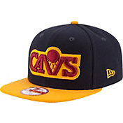 New Era Men's Cleveland Cavaliers 9Fifty Navy/Gold Adjustable Hat